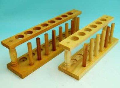 木质试管架
