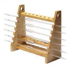 木质梯形管架